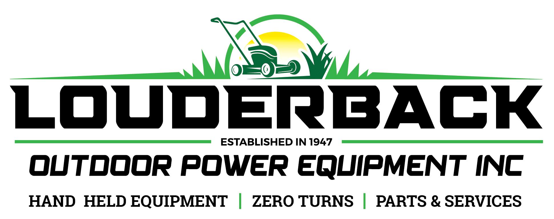 Louderback Logo 2021 tagline white background