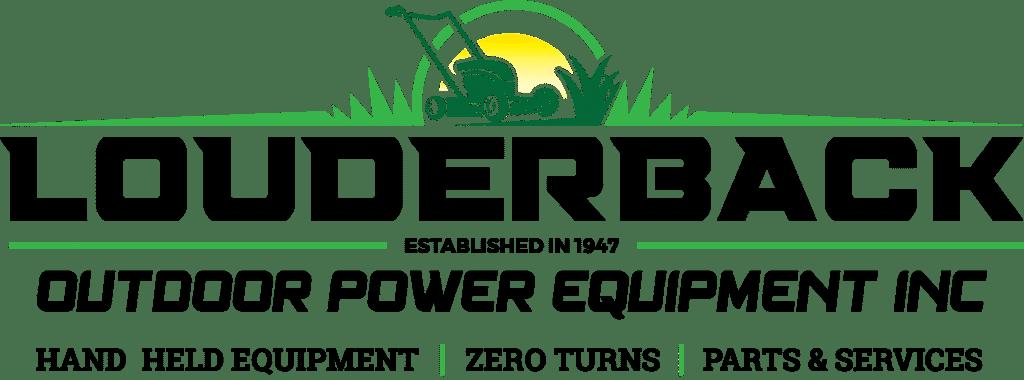 Louderback logo 2021 tagline